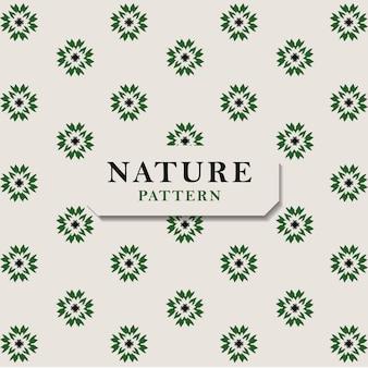 緑の葉とのシームレスな自然のパターン。シームレスなテクスチャです。葉パターン