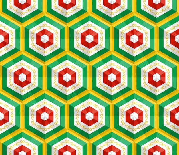 Seamless oriental pattern. vector background