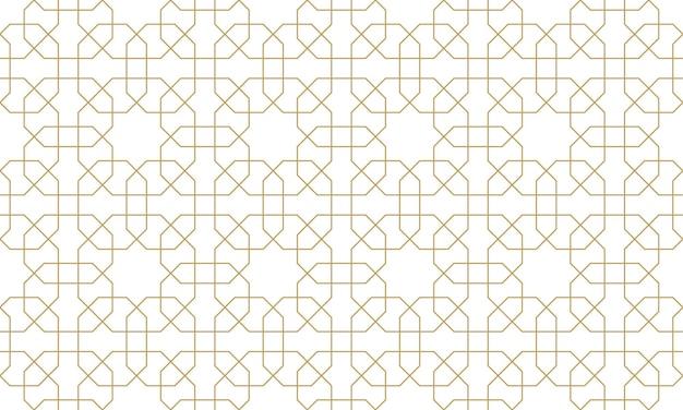 Seamless original pattern in authentic arabian style. vector illustration