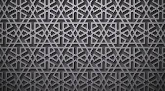 シームレスなパターン抽象パッチワーク