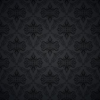 シームレスパターンアンティーク、ロイヤル、装飾用
