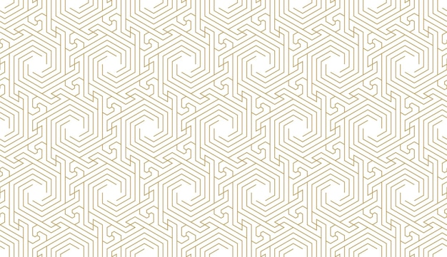 Seamless pattern in authentic arabian style illustration