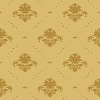Seamless pattern background baroque. wallpaper retro ornamental decorative,