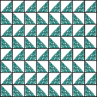 Seamless  pattern background from triangle glitter shape