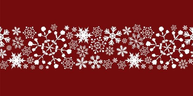 クリスマスのデザインとシームレスなパターンの背景