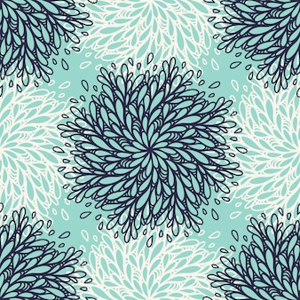 Seamless pattern background with floral element. trendy textile, fabric, wrapping. surface design.