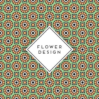 Seamless pattern background with mandala arabic design
