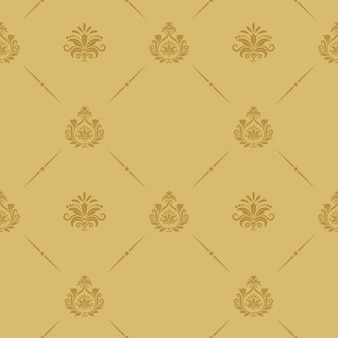 Seamless pattern baroque style. retro vintage background decor.