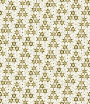 A seamless pattern based on elements of the traditional japanese craft kumiko zaiku.