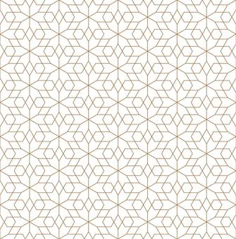 일본 장식 구미코를 기반으로 한 원활한 패턴