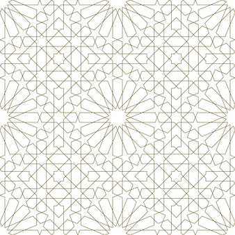 Seamless pattern based on traditional islamic art.