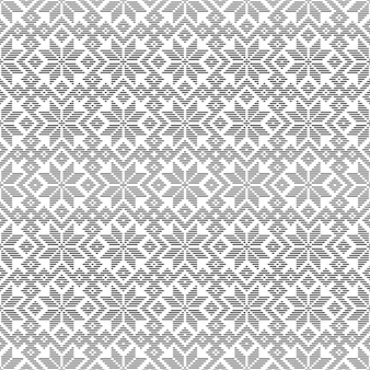 Seamless pattern based on traditional japanese ornament in style kogin.