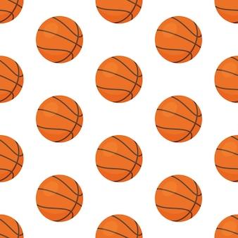 シームレスパターンバスケットボールボール