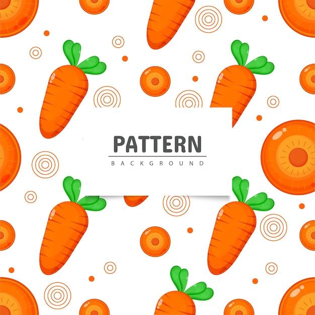 Морковь бесшовные модели