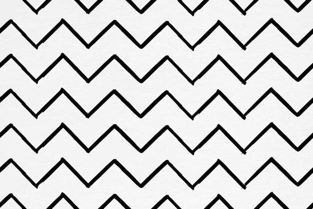 Seamless pattern of chevron ink brush background