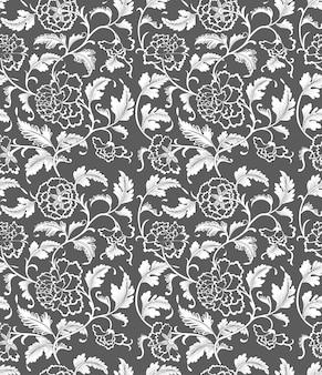 Seamless pattern chinese ornament