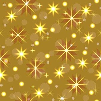 원활한 패턴 크리스마스 장식 네온 화환 눈송이 별 축제 장식 새 해