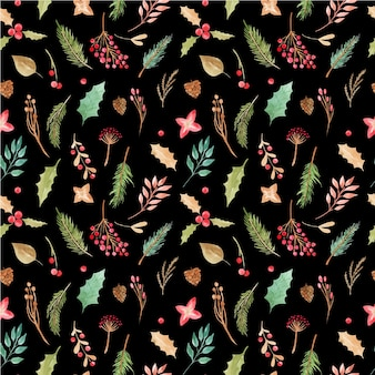 Seamless pattern christmas print.