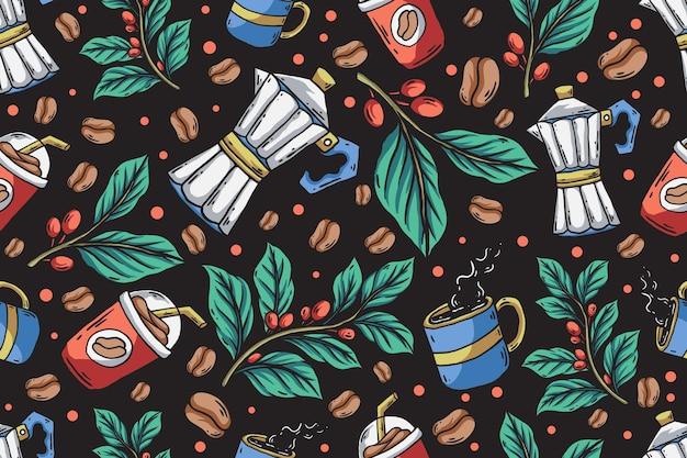 완벽 한 패턴 커피