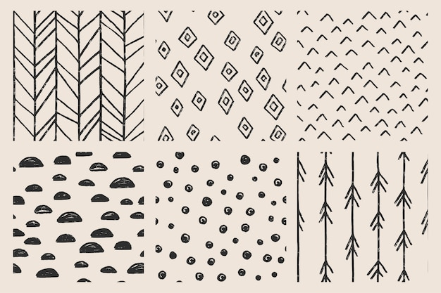 Seamless pattern collection.