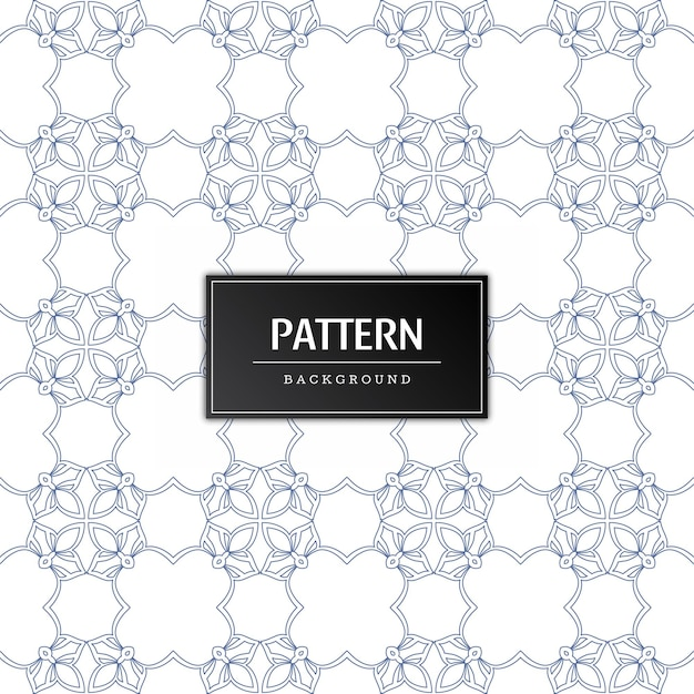 Seamless pattern decorative background