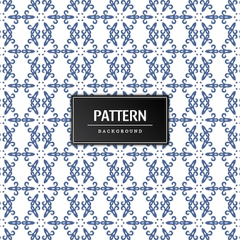 Seamless pattern decorative vector