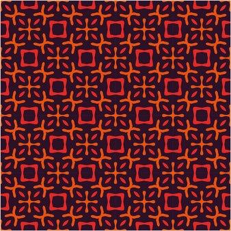 원활한 패턴 디자인 추상 스타일