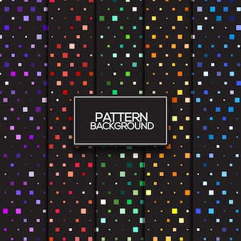 Seamless pattern design colorful collection