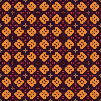 원활한 패턴 디자인 에스닉 스타일