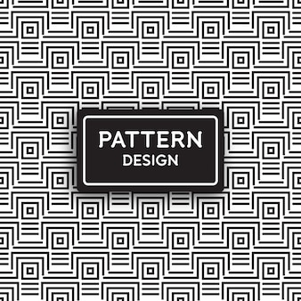Seamless pattern design - geometric lines and square shapes