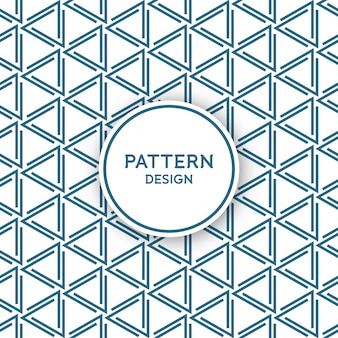 Seamless pattern design - lines forming triangles