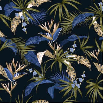 Seamless pattern exotic