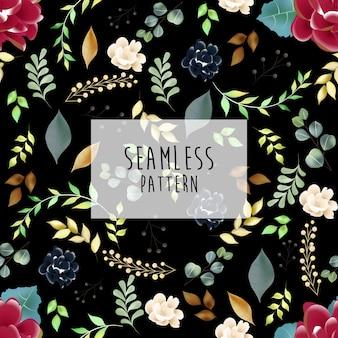 Seamless pattern, floral pattern