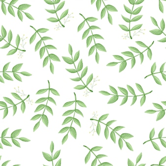 Seamless pattern flowers, forest green, gray leaves garland, white background. wedding invitation banner. floral arrangement.