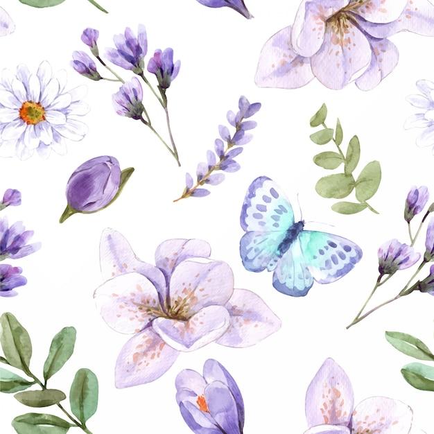 완벽 한 패턴 꽃입니다.