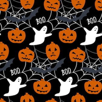 Бесшовный фон для хэллоуина