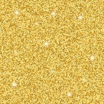 Бесшовный узор из золотых блестящих обоев для поздравительных открыток на текстильных принтах
