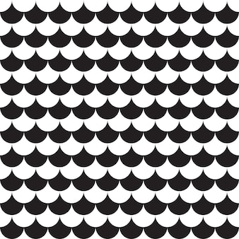 Seamless pattern geometric. black and white background