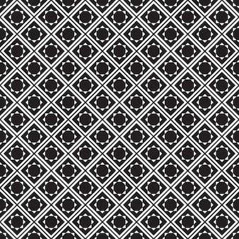 Seamless pattern geometric.black and white background.