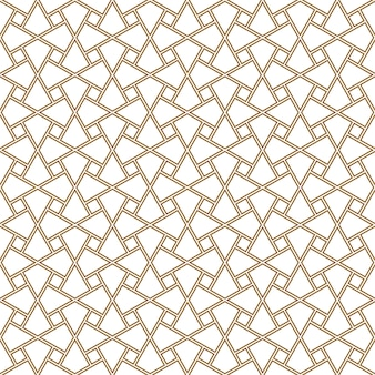 Seamless pattern geometric ornament based on traditional arabic art. cairo tiles.