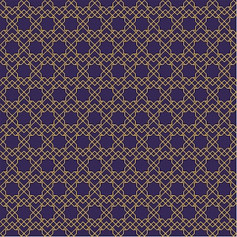 Seamless pattern. geometric shape in batik style.  background wallpaper. traditional elegant motif.