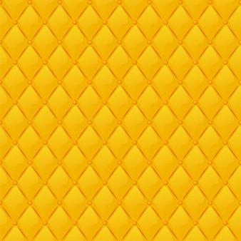 벽지에 대한 원활한 패턴 골드 퀼트 직물 질감. 벡터 일러스트 레이 션 그래픽 디자인에 대 한 만화 럭셔리 배경입니다.
