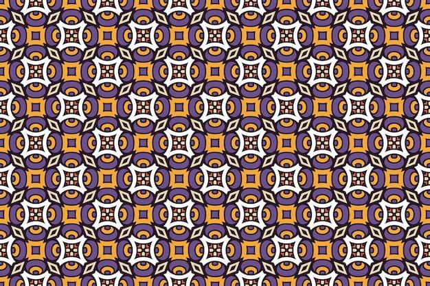 Seamless pattern. hand ddrawn vintage decorative elements.