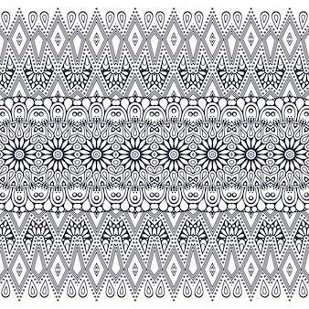 Seamless pattern. hand drawn . islam, arabic