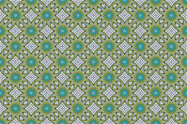 Seamless pattern. elementi decorativi vintage disegnati a mano. Vettore gratuito
