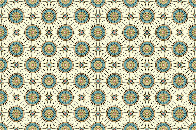 Seamless pattern. hand drawn vintage decorative elements.