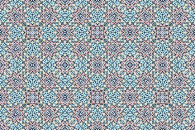 Seamless pattern. hand drawn vintage decorative elements.