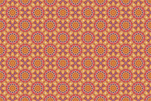 완벽 한 패턴입니다. 손으로 그린 빈티지 장식 요소.