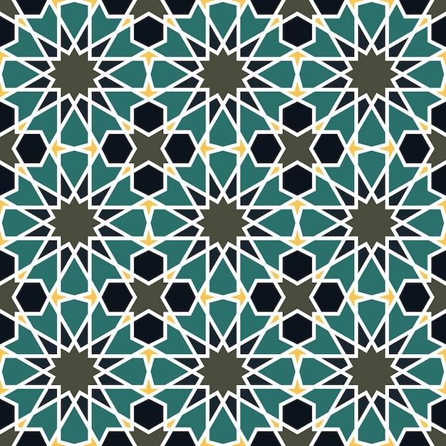 モロッコスタイルのシームレスなパターン