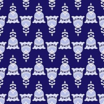 伝統的なスタイルのシームレスなパターン